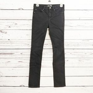 Free People basic black skinny jeans size 26